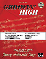 Groovin' High VOL 43 BK/CD