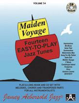 Maiden Voyage VOL 54 BK/CD