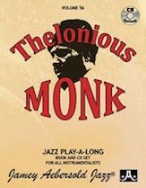 Thelonious Monk Vol 56 BK/CD