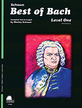 Best of Bach - Level One (Schaum Piano Method)
