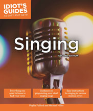 Idiot's Guides: Singing, 2nd Ed (Bk/Audio Access)