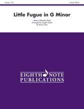 Little Fugue in G Minor - Brass Choir with Percussion