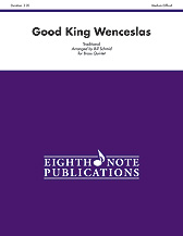Eighth Note Traditional Schmid B  Good King Wenceslas for Brass Quintet