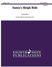 Eighth Note Meeboer R   Santa's Sleigh Ride for Brass Quintet