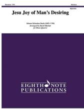 Jesu Joy of Man's Desiring - Brass Quartet