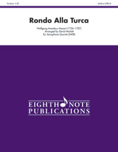 Rondo Alla Turca - Sax Quartet SATB