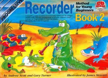 PROGRESSIVE YB RECORDER BK 2 BK/CD -