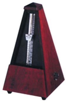 801M Wittner Mechanical Wood Metronome, Mahogany