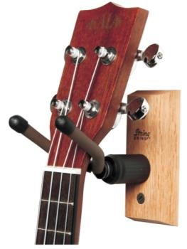 String Swing Mando/Ukulele Hanger - Black Walnut