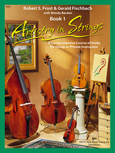 Artistry in Strings Book 1 - Viola
