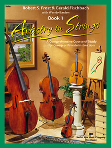 ARTISTRY IN STRINGS - VIOLIN BOOK 1- BOOK AND CDS