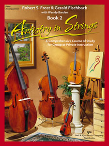 ARTISTRY IN STRINGS - BOOK 2 - PIANO ACCOMPANIMENT