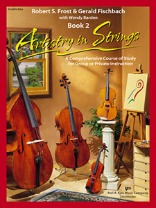 Artistry In Strings, Book 2 - Double Bass -