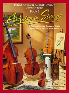 ARTISTRY IN STRINGS, BK 2 BOOK AND CDs/VIOLIN ARTISTRY S