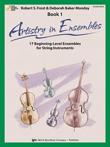 Artistry in Ensembles Bk 1 String Bass