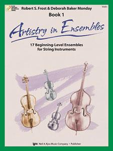 Artistry In Ensembles Bk. 1 Violin