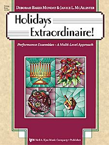 Holidays Extraordinaire!-String Bass