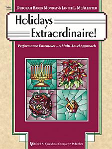 Holidays Extraordinaire!-Violin