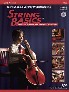 String Basics Steps to Success Book 1 - Cello