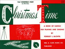 CHRISTMAS TIME-2ND ENSEMBLE BB CL/CN BOOK PROGRAM-TE