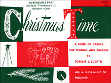 CHRISTMAS TIME-3RD ENSEMBLE BC BOOK PROGRAM-TE