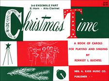 CHRISTMAS TIME-3RD ENSEMBLE ALTO BOOK PROGRAM-TE