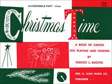 CHRISTMAS TIME-3RD ENSEMBLE VA BOOK PROGRAM-TE