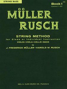 Muller-Rusch String Method Book 1-String Bass