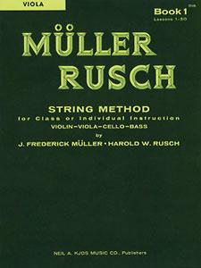 MULLER-RUSCH STRING METH #1-VIOLA