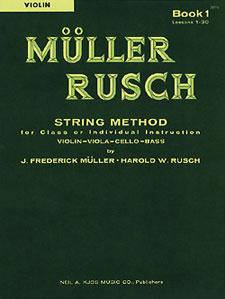 MULLER-RUSCH STRING METH #1-VIOLIN