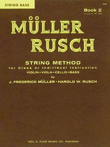 MULLER-RUSCH STRING METHOD BOOK 2-ST BS