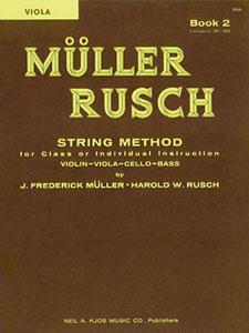 MULLER-RUSCH STRING METH #2-VIOLA