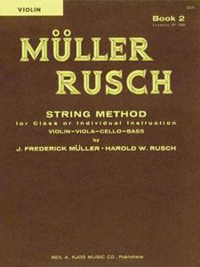 MULLER-RUSCH STRING METH #2-VIOLIN