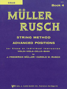 Muller-Rusch String Method Book 4-Cello