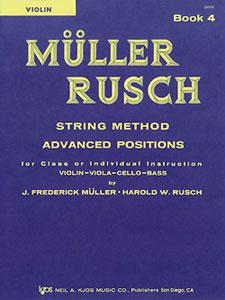 MULLER-RUSCH STRING METH #4-VIOLIN