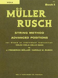 Muller-Rusch String Method Book 5-Viola
