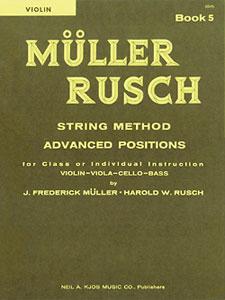 Muller-Rusch String Method Book 5-Violin