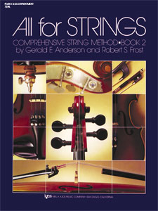 ALL FOR STRINGS BOOK 2-PIANO AFS STRG M
