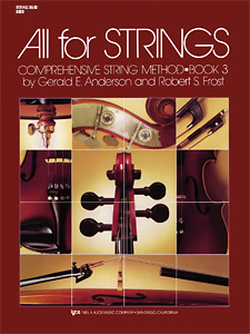 All For Strings Book 3 For String Bass