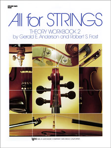 All For Strings Theory Workbook 2-String Bass