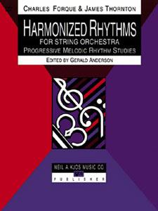 Harmonized Rhythms For Strings, Score