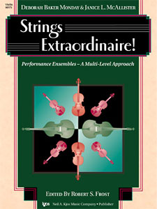 STRINGS EXTRAORDINAIRE-VIOLIN STRING COL