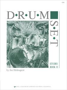 DRUM SET - ETUDES, BOOK 2 DRUMS