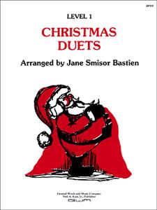 Kjos Bastien   Christmas Duets - Level 1 - 1 Piano / 4 Hands