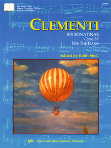Clementi: 6 Sonatinas Op.36 For Piano