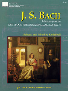 Notebook for Anna Magdalena Bach - Piano