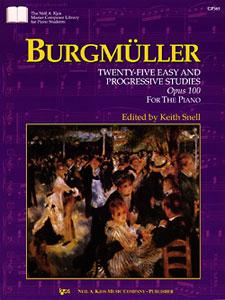 Burgmuller - 25 Easy & Progressive Studies, Op. 100