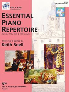 ESSENTIAL PIANO REPERTOIRE-PREP LVL-BOOK&CD NAK PA LIB