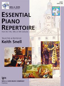 Essential Piano Rep 17-19 Centuries Book 1
