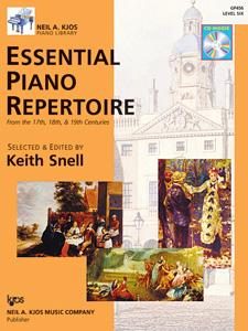 Essential Piano Repertoire Level 6 w/CD